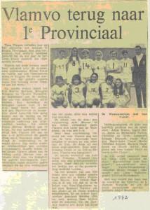 krantenknipsel uit 1972
